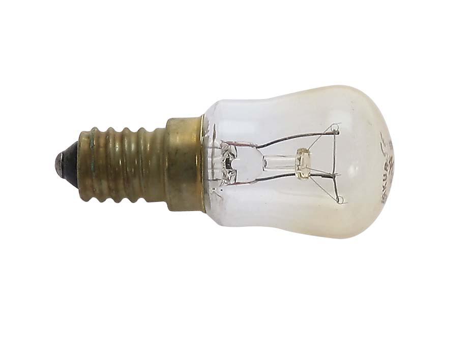 Kühlschrank Leuchtmittel, E14, 230V, 15W, klar,