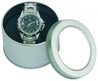 Armbanduhr Silver-Time Herrenuhr Metallband