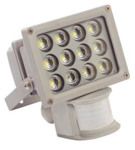 Schwabe LED Fluter mit Bewegungsmelder IP44