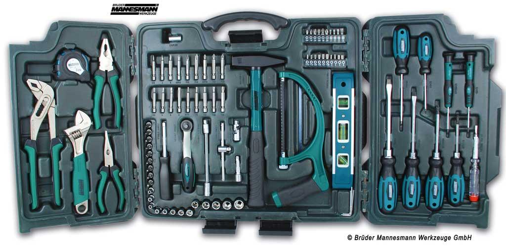 Werkzeugkoffer 89-tlg. Mannesmann