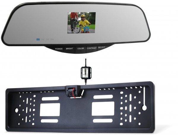 Elro PARK25 mirror reversing camera set