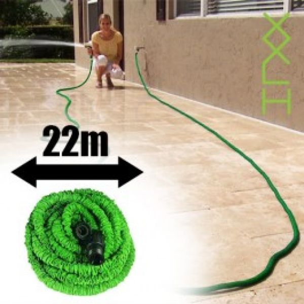 of stretchable<br> hose with pistol<br>22 meters