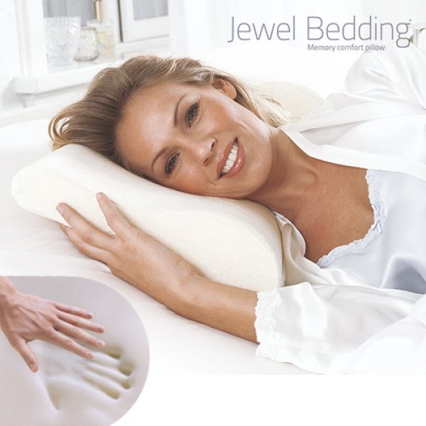JEWEL Nackenkissen<br>BEDDING VISCOELASTIC