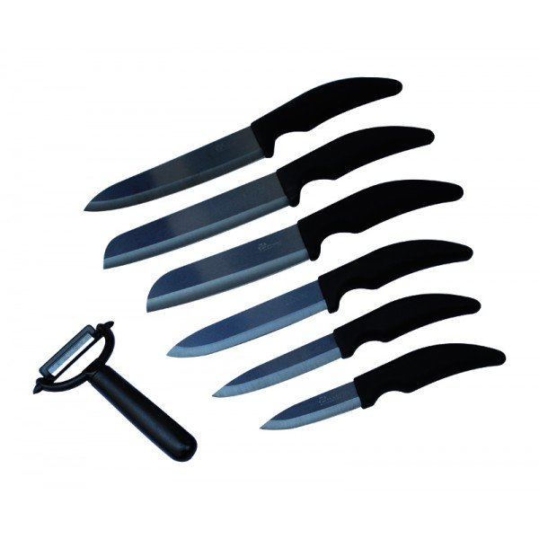 BLACK BOX Keramikmesser 7 PIECES 6 CUI