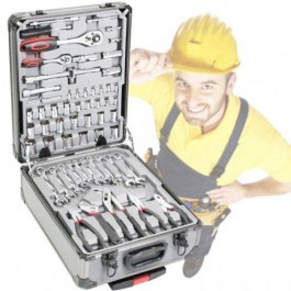 Toolbox 186 pieces