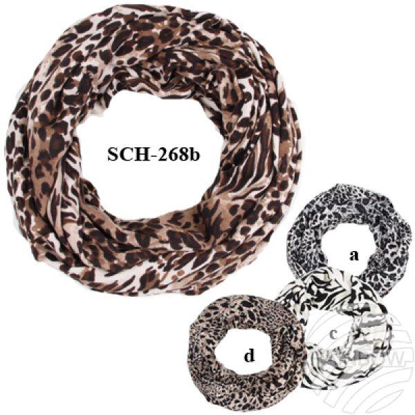 SCH-268b Tube<br> Tubeschals<br> knitting scarves ...