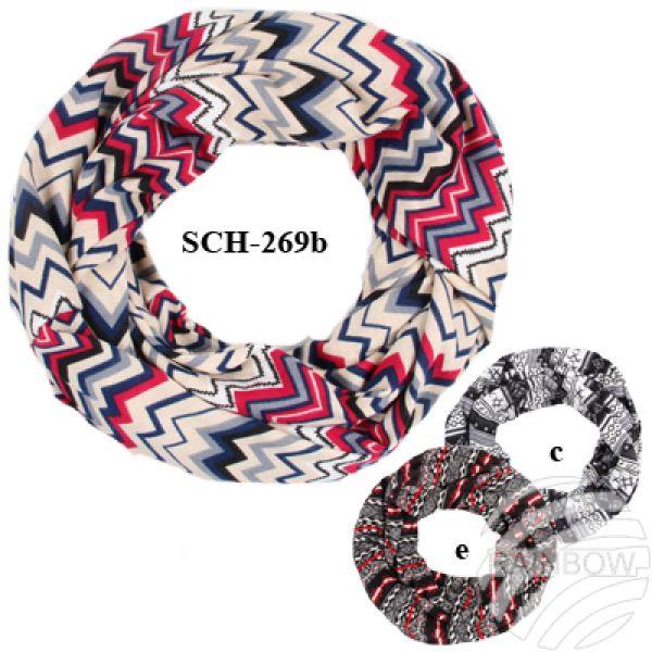 SCH-269b Tube<br> Tubeschals<br> knitting scarves ...