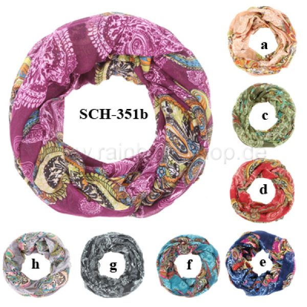 SCH-351b<br> Tubeschals Snoods<br>Scarves in whol