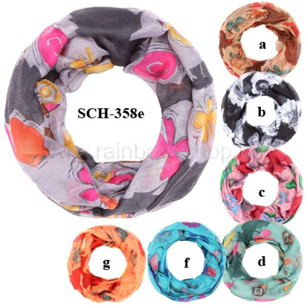 SCH-358E<br> Tubeschals Snoods<br>Scarves in whol