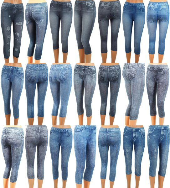 JEANS Leggings - MIX