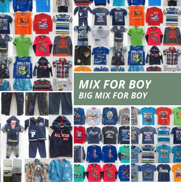 MIX CLOTHES FOR<br> BABY - BOY-FROM 4<br>TO 12 YEARS