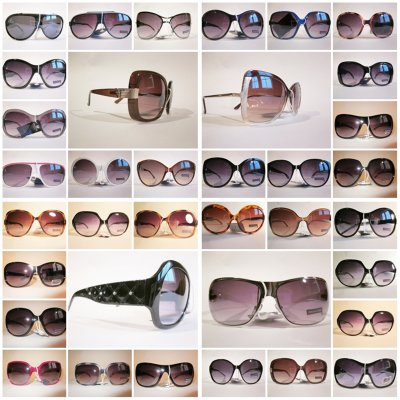 HUGE SUNGLASSES-MIX NEW MODEL