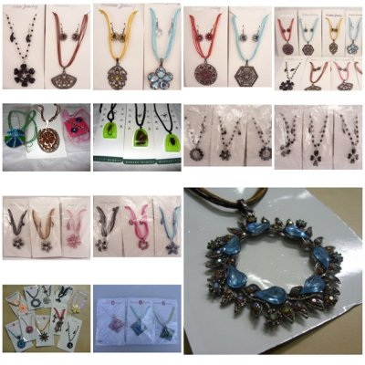 JEWELRY, NECKLACES<br>/ EARRINGS LARGE MIX