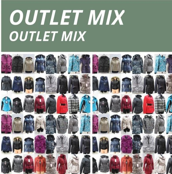 JACKET, JACKETS -<br>OUTLET MIX