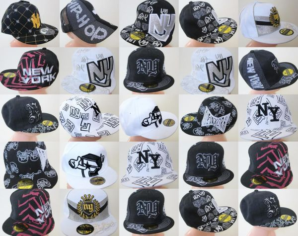 CAP, HATS HIP HOP<br>- lined up NY