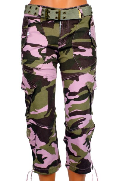 TROUSERS MILITARY WOMEN