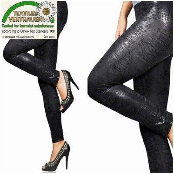 Latex Leggings -<br>SNAKE SKIN - SALE