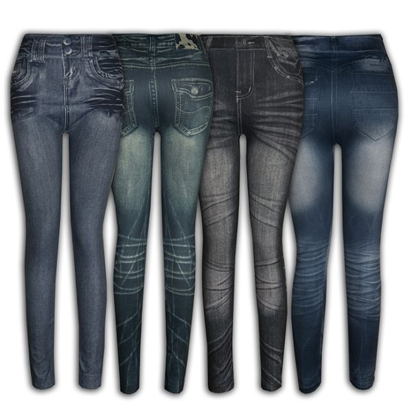 Jeans Leggings<br>Sets - Mode Frauen.
