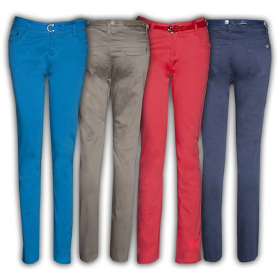 Spodnie - Moda<br>damska, Odzież