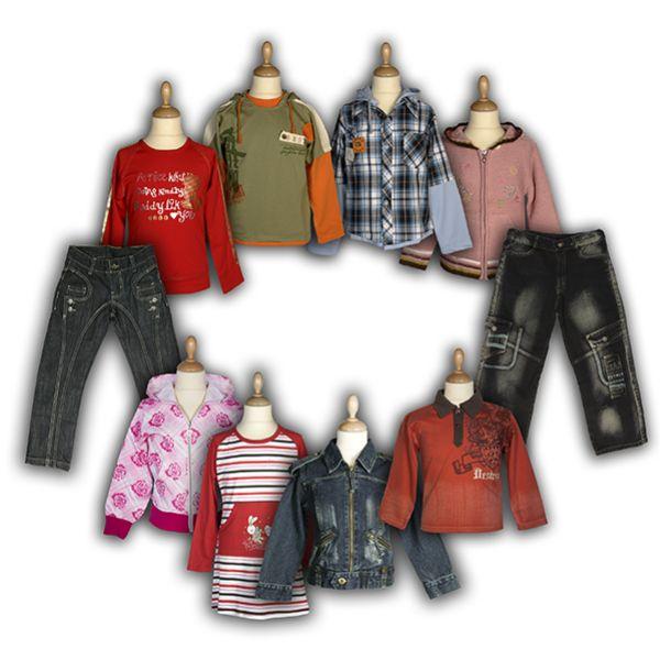 Beaucoup Vêtements<br> pour enfants -<br>Mode enfant