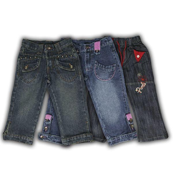 Kind Mädchen Jeans<br>Kleidung