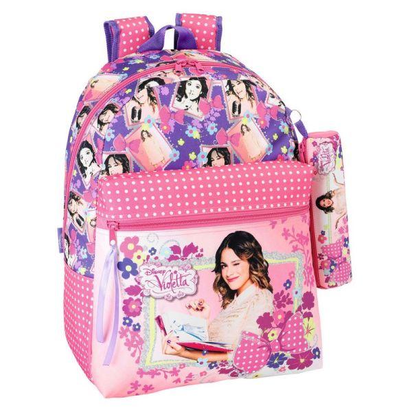 Backpack Kit +<br> Violetta  Flowers <br>- (43 x 32