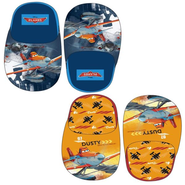 Slippers Planes -<br>2 Assorted Designs
