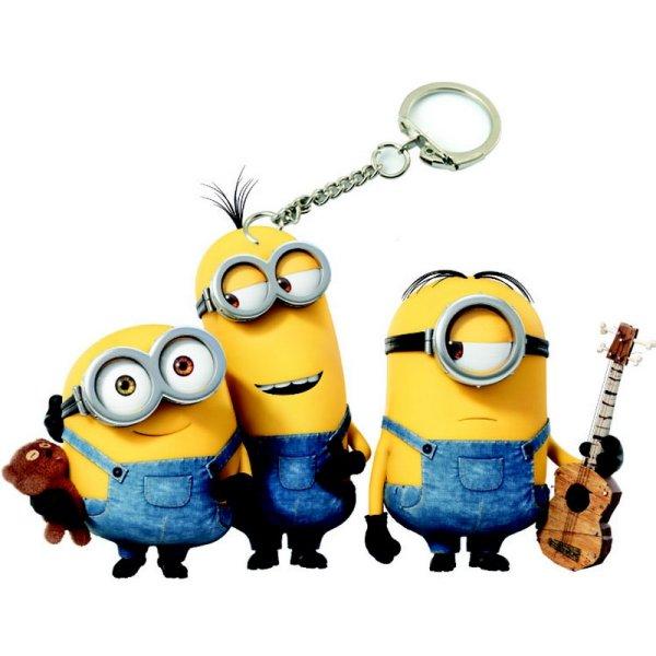 PVC Keychain<br> Minions - Bob, Tim<br>&amp; Stuart