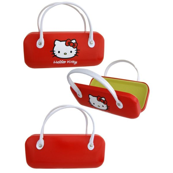 Glasses Case with<br>Hello Kitty