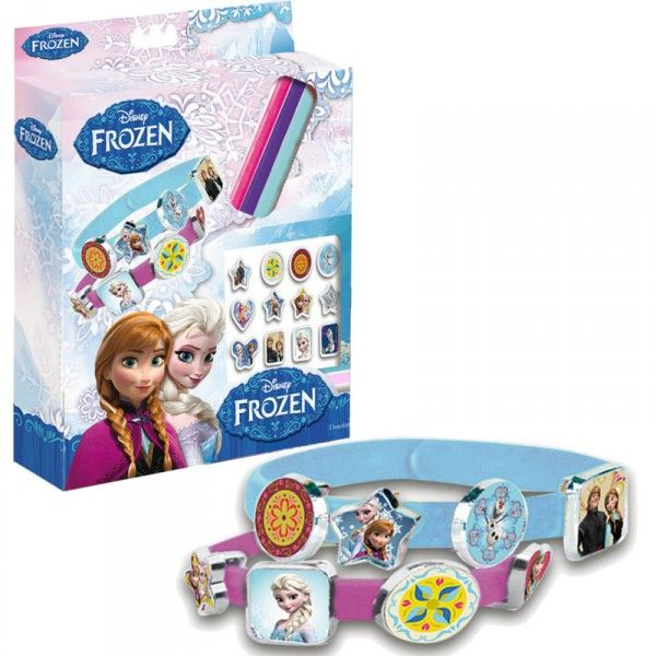 Set 3 Silicone<br> Bracelets THE SNOW<br>QUEEN