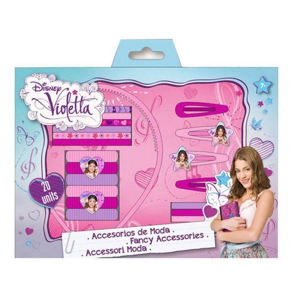 Blister włosów<br> Akcesoria Violetta<br>- 20 sztuk