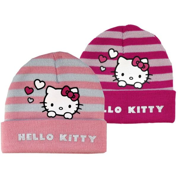 Bonnet Stripes<br> Hello Kitty -<br>(Assorted 2 Models)