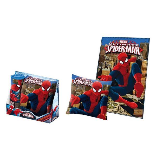 Cushion Set +<br>Plaid Spiderman