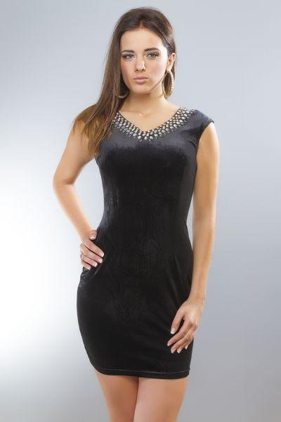 Kleid Strass