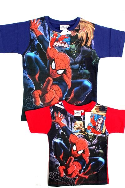 Spider Man<br> children&#39;s<br> short-sleeved ...