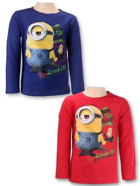 Minions<br>T-Shirt-lang Hülsen