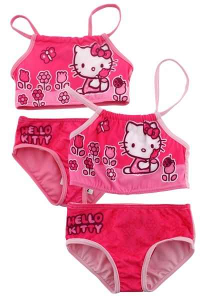 Hello Kitty fille<br>en bikini