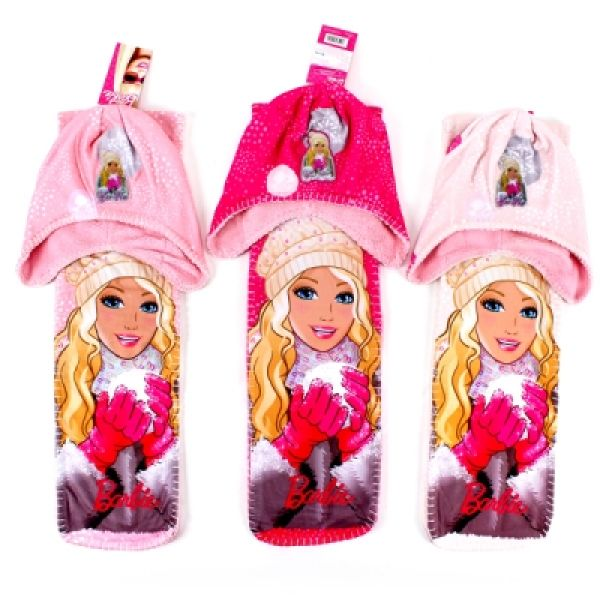 Barbie kids hat<br>scarf sets