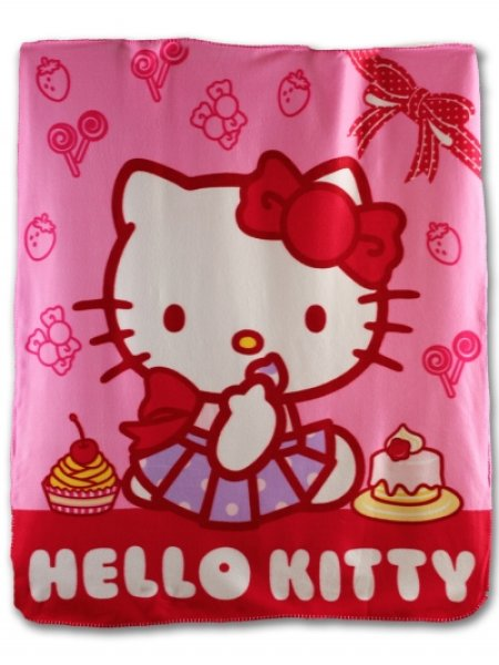 Hello Kitty Babydecke