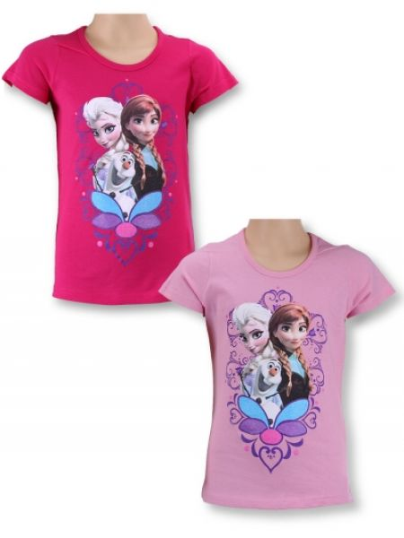 frozen baby<br> short-sleeved<br>T-shirt