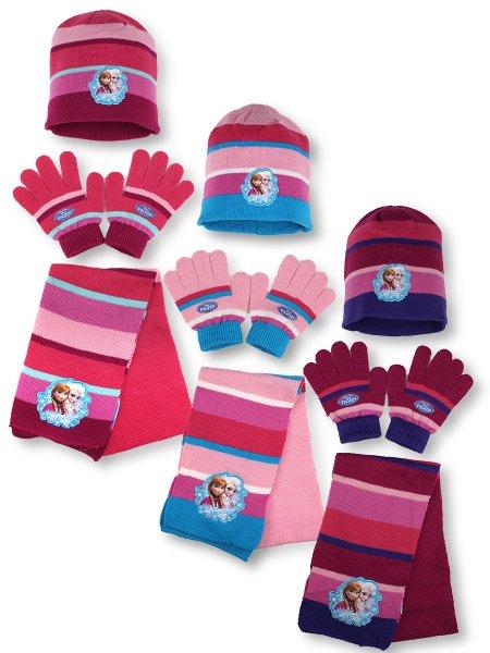 frozen<br>-hat-sjaal<br>handschoenen set