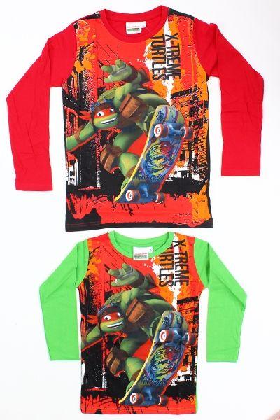 Langarm-T-Shirt<br>Ninja Turtle Kinder