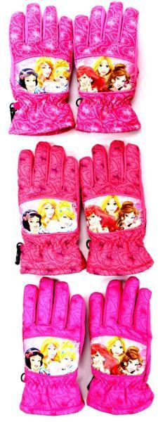 Princess rękawice<br> narciarskie dla<br>dzieci