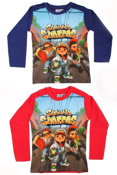 Subway<br> children&#39;s<br>long-sleeved T-shirt