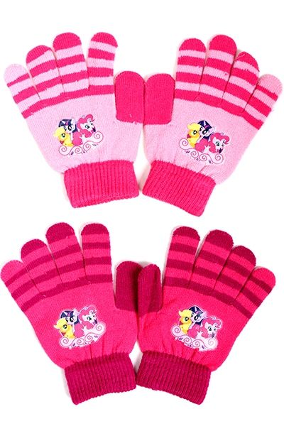 My Little Pony<br> knitted gloves for<br>children