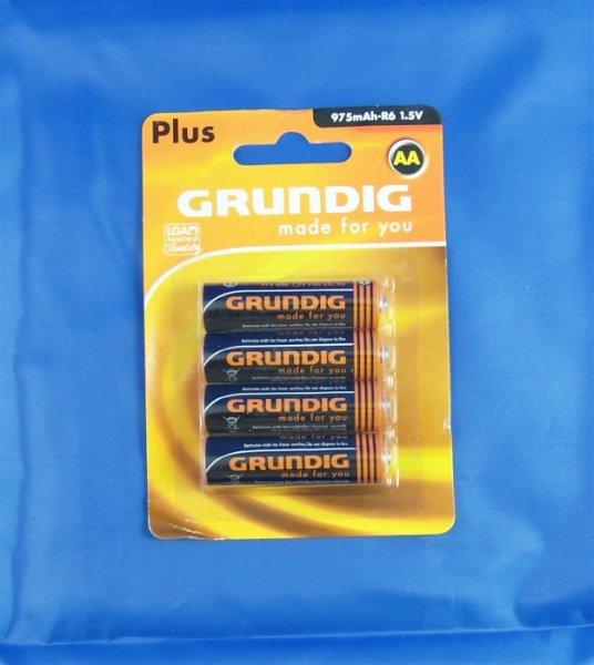 Grundig Batterien R6 AA 4er-Blister