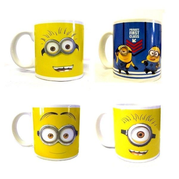 Minions Tasse Mug en céramique en boîte