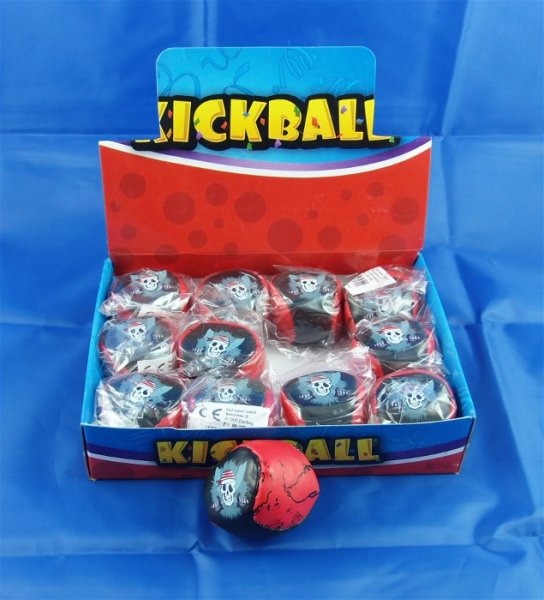 Kickball Knautschball PIRAT Display Jonglierball