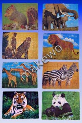 Animal - PUZZLE, 28 x 21 cm, 70 pièces