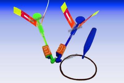 LED Propeller mit<br>Katapult-Abschiesser